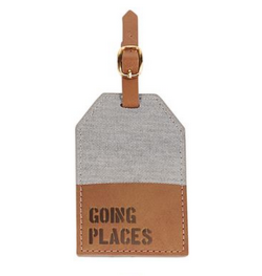 Going Canvas Luggage Tag