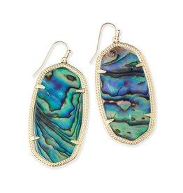 Kendra Scott Kendra Scott Danielle Earrings in Abalone Shell