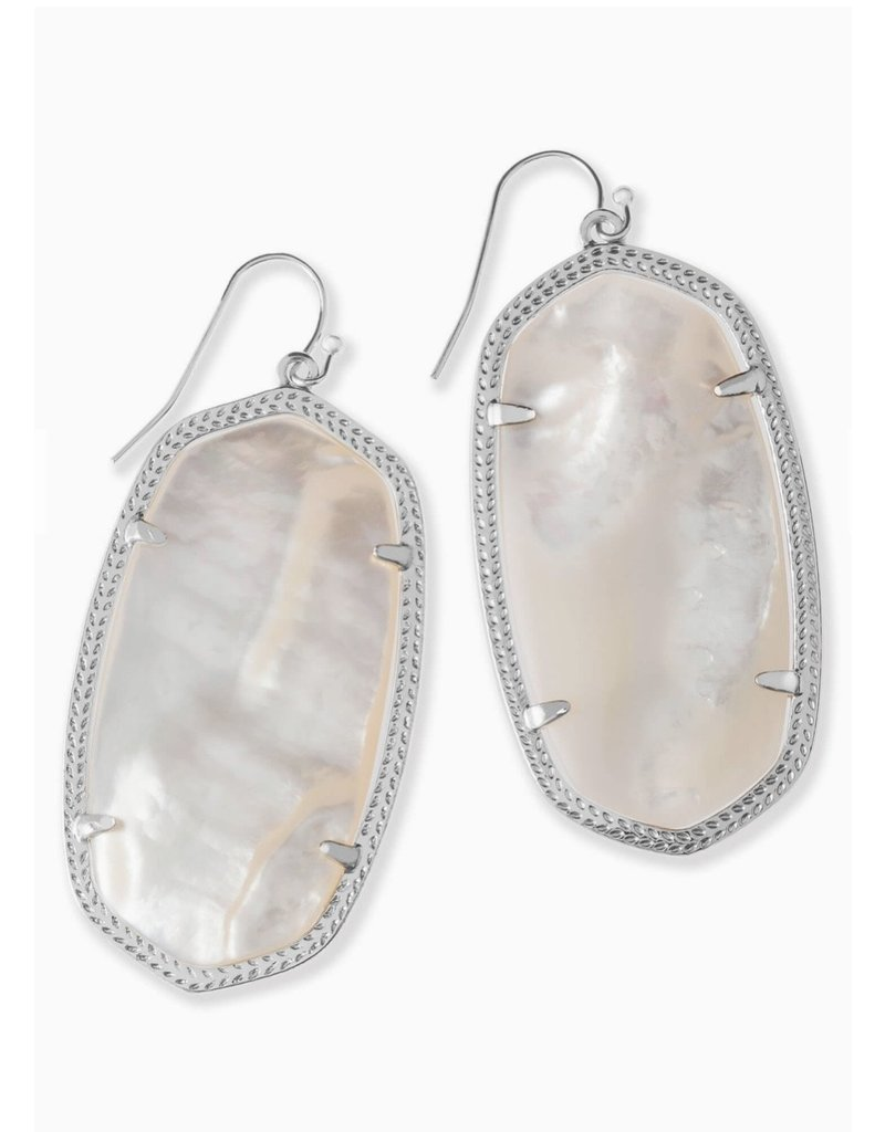 Kendra Scott Danielle Earring Ivory MOP on Silver