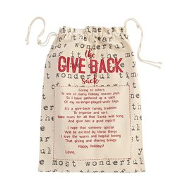 Word Print Give Back Sack