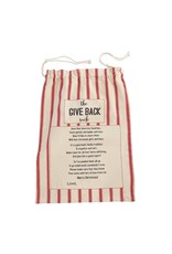 Striped Give Back Sack