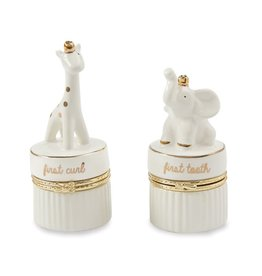 Giraffe & Elephant Tooth & Curl Set