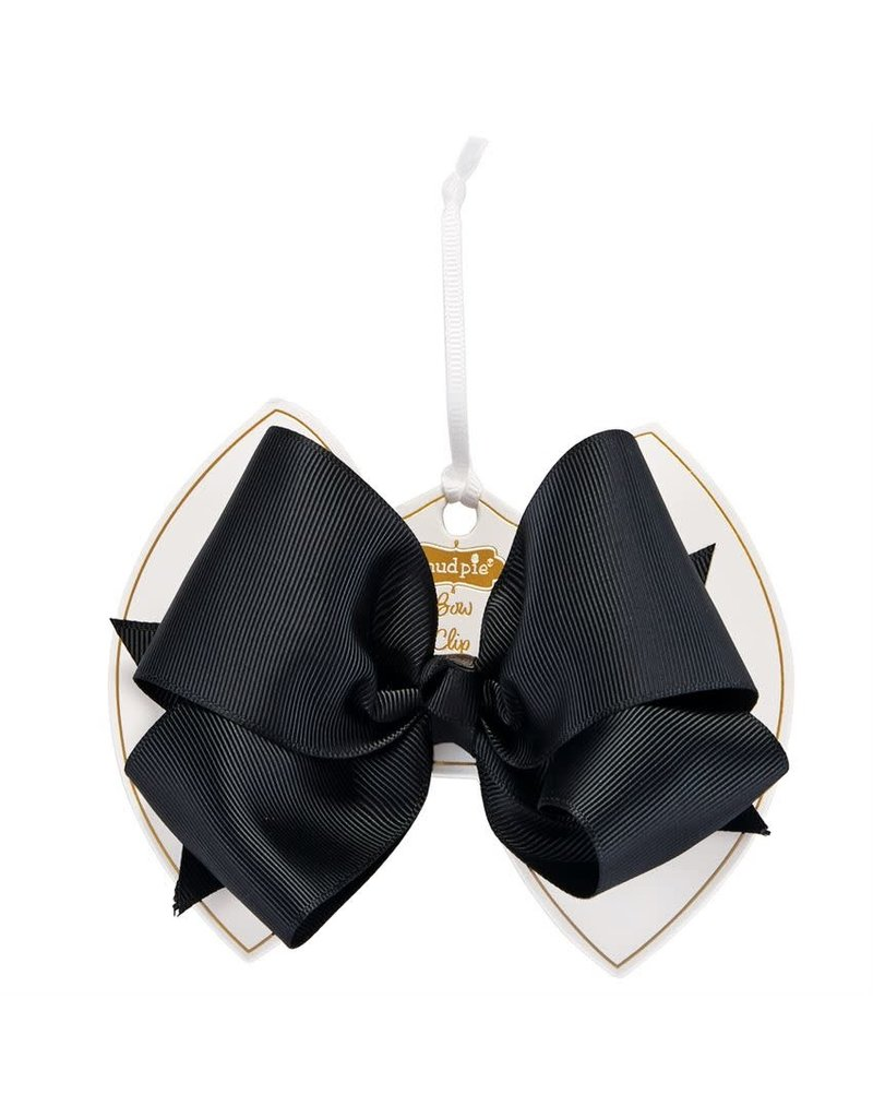 Black Bow Clip