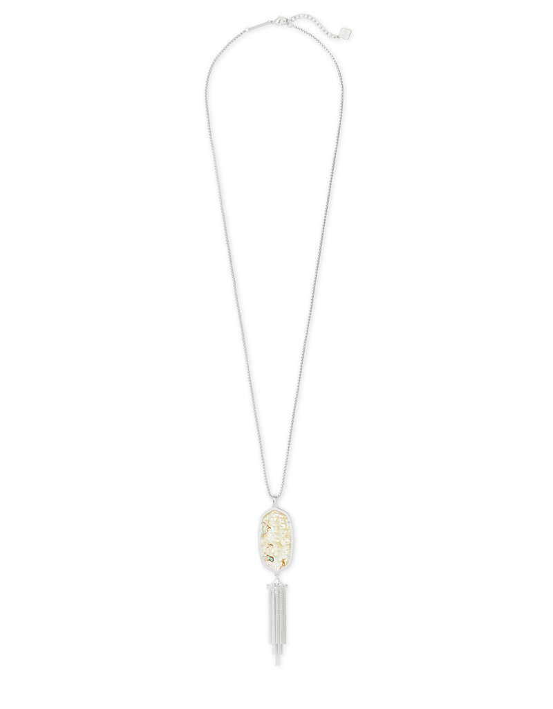 Kendra Scott Rayne Necklace in White Abalone