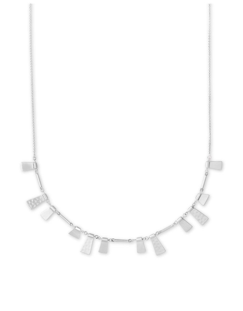 Kendra Scott Lynne Short Necklace in Silver
