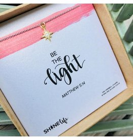 SHINElife Gold/Silver Be the Light Necklace