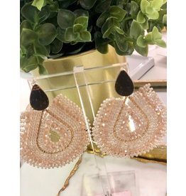 Treasure Jewels Mariana Champagne Earrings