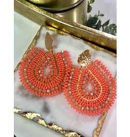 Treasure Jewels Mariana Coral Earrings