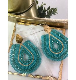 Treasure Jewels Mariana Turquoise Earrings