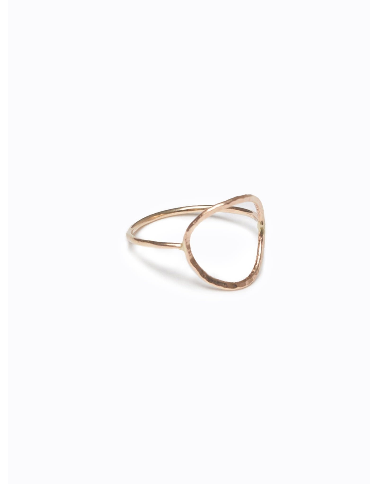 Able Gold Circle Ring