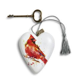 Art Heart- Cardinal