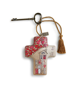Artful Cross- Bless This Home