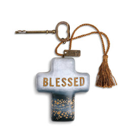 Artful Cross- Blessed