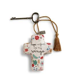 Artful Cross- Hope & Faith