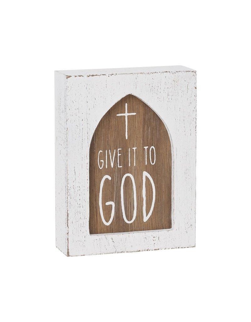 Box Sign- God