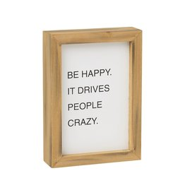 Letterboard Sign- Happy Crazy