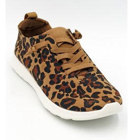 Not Rated Mayo Leopard Print Sneakers