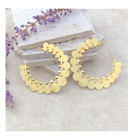 Treasure Jewels Desire Circle Gold Hoops