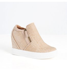 Not Rated Timmibelle Blush Hidden Wedge Sneaker Shoe