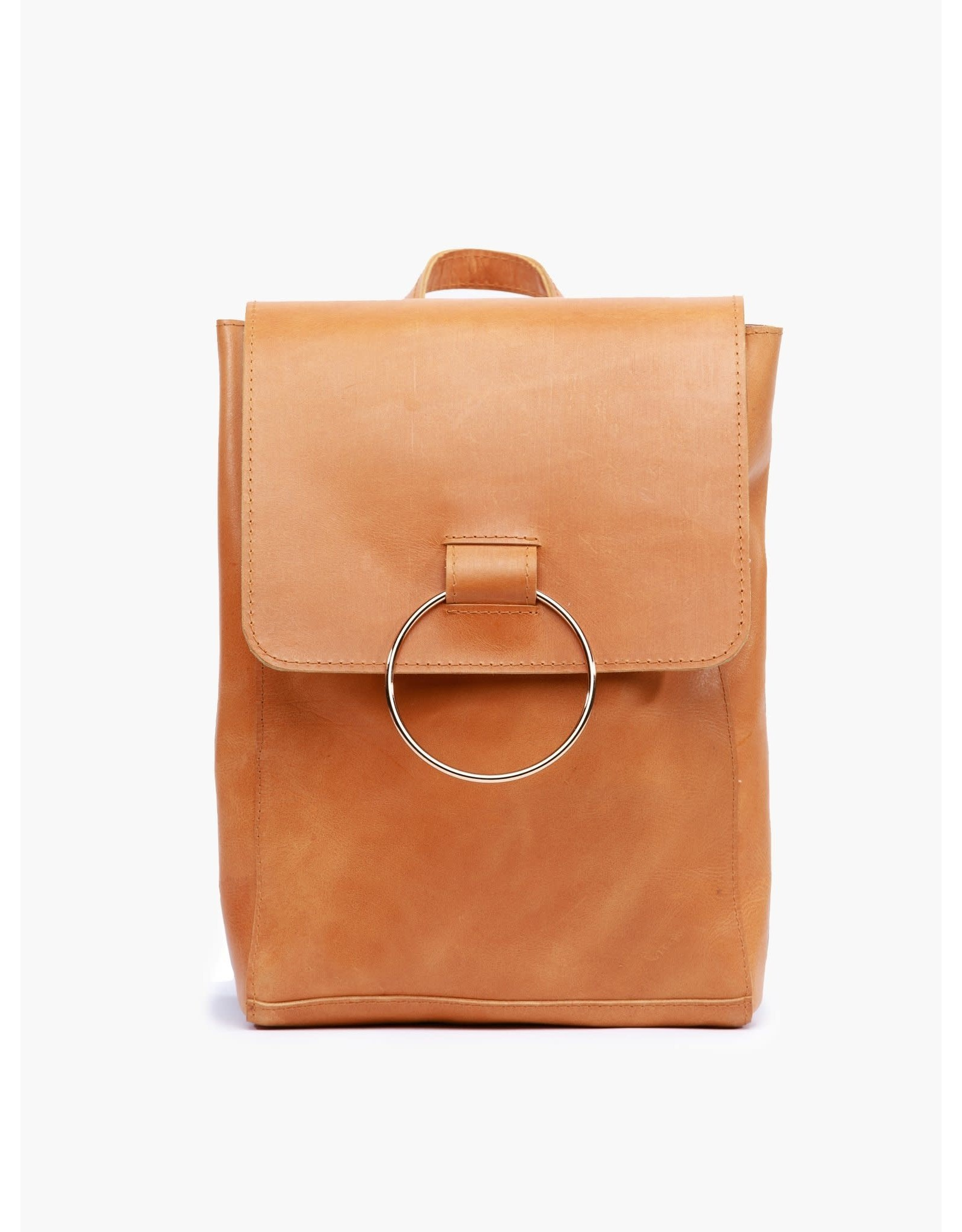 Able Fozi Backpack - Cognac