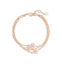 Kendra Scott Rue Multi Strand Bracelet in Rose Gold