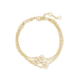 Kendra Scott Rue Multi Strand Bracelet in Gold