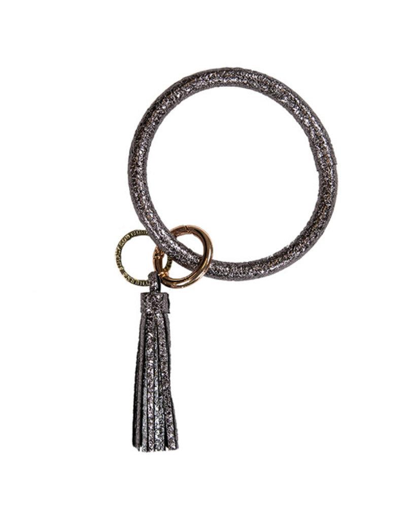 SS Bangle Key Ring Black Chrome