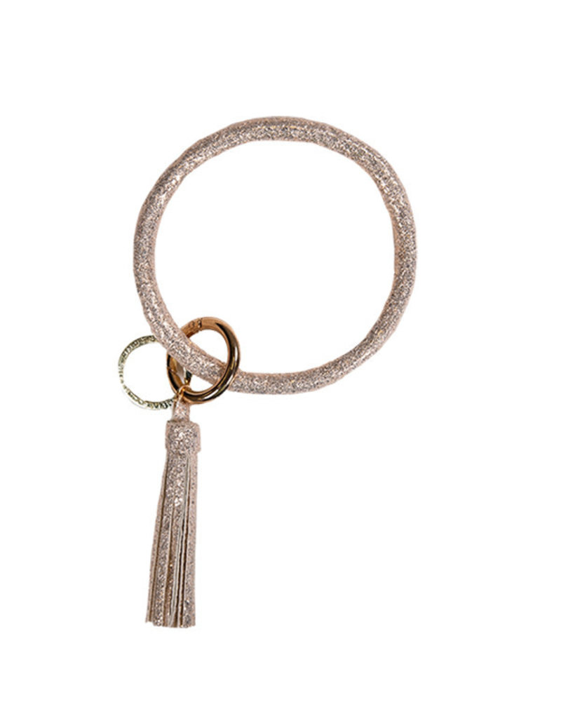 SS Bangle Key Ring Rose Gold