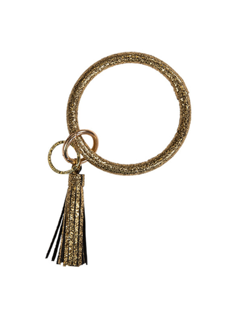 SS Bangle Key Ring Gold