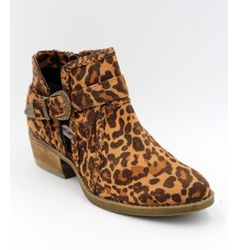 Not Rated Percy Leopard Side Buckle Bootie