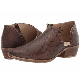 Not Rated Jasper Brown Snake Low Bootie