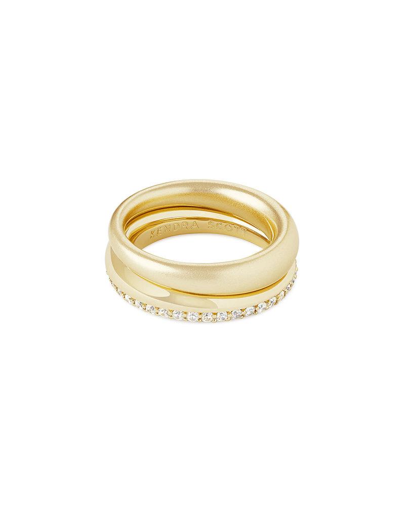 Kendra Scott Colette Ring Set in Gold