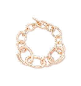 Kendra Scott Walker Link Bracelet in Rose Gold