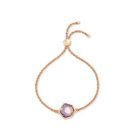 Kendra Scott Vanessa Corded Bracelet Rose Gold