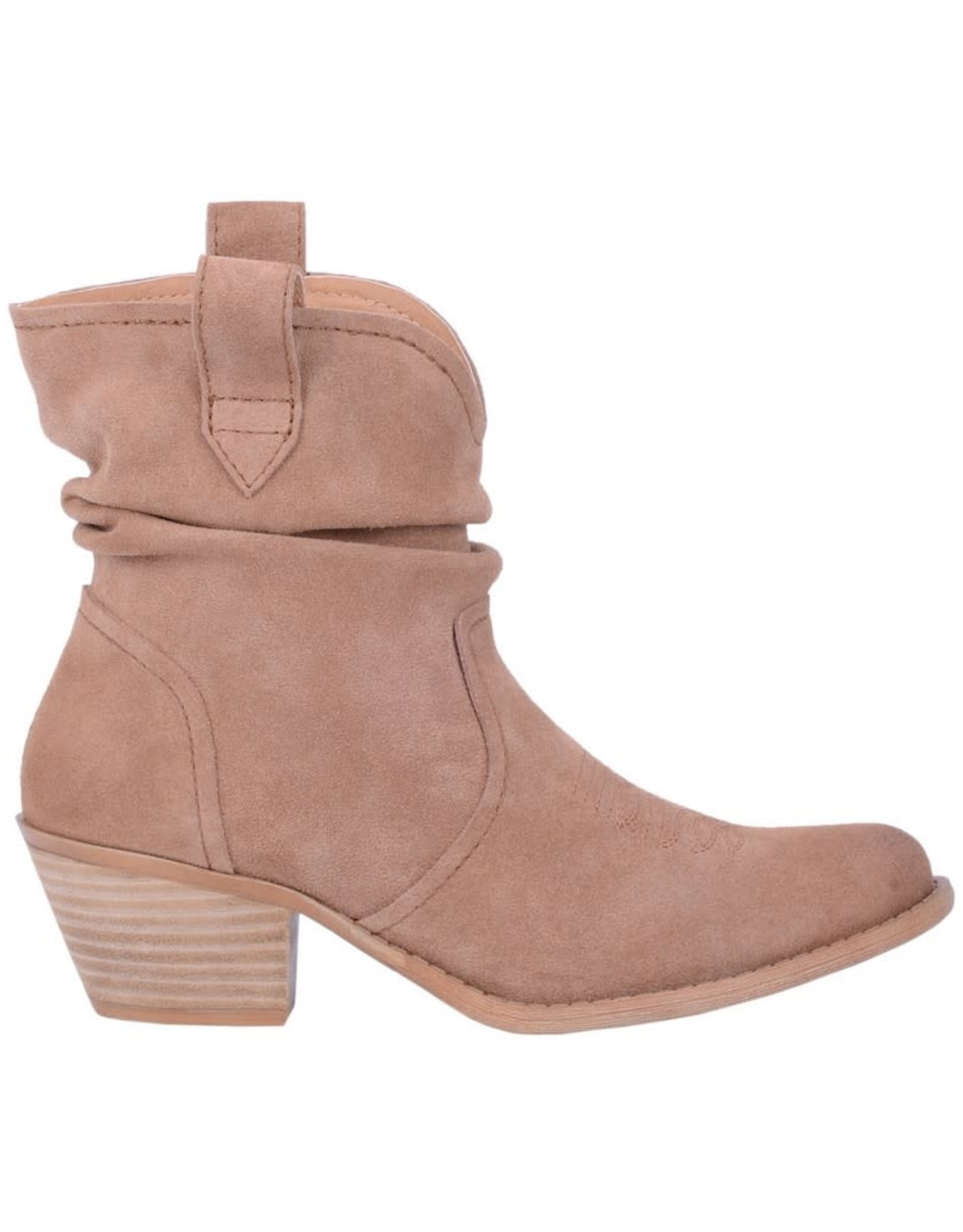 Dingo Jackpot Boots- Dark Tan