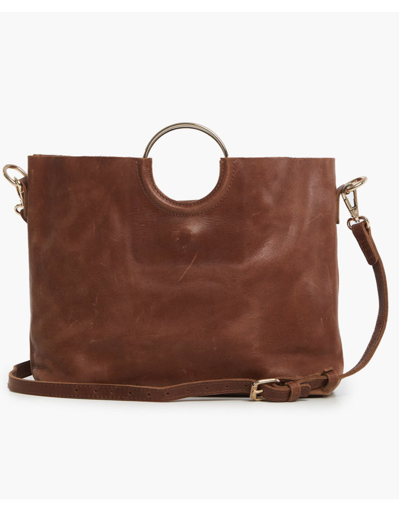 Able Fozi Handbag - Whiskey