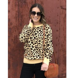 Simply Southern SS Leopard Sweater