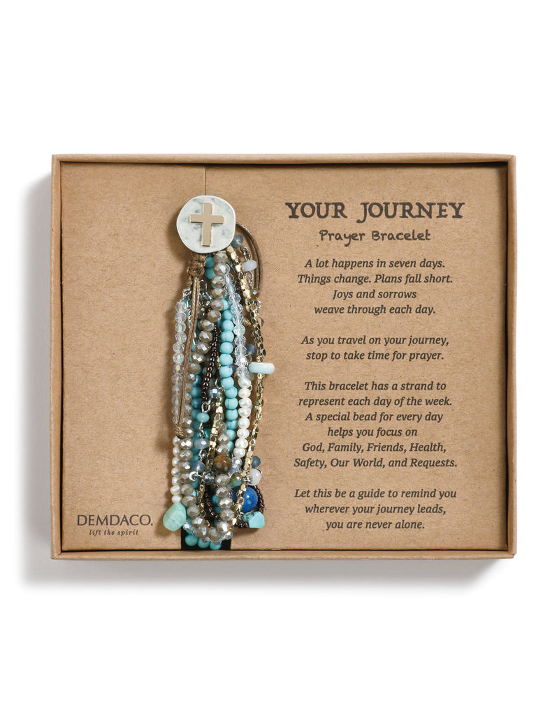 Your Journey Prayer Bracelet in Turquoise