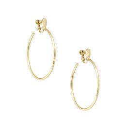 Kendra Scott Pepper Clip On Earrings in Gold