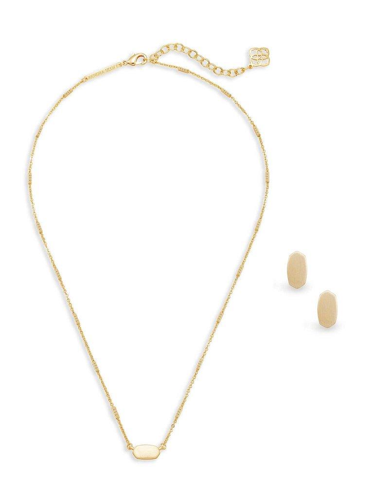 Kendra Scott Gift Set Fern & Barrett Gold Metal