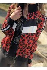 Buddy Love Fire Leopard Jacket
