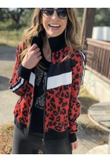 Buddy Love Fire Leopard Jacket
