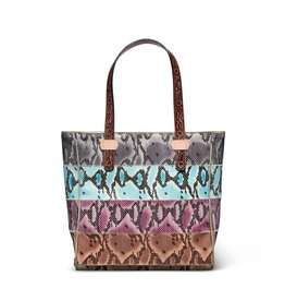 Consuela Classic Tote- Miley Striped Snake