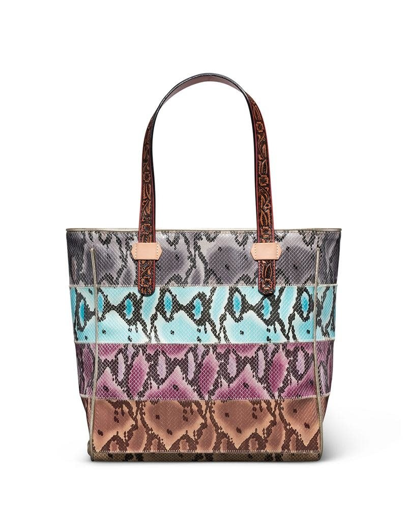 Consuela Classic Tote Miley Striped Snake