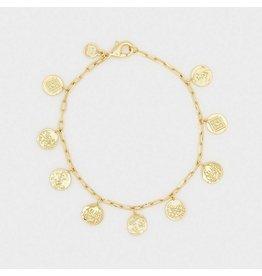 Gorjana Gold Ana Coin Bracelet