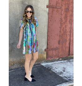 Multi Color Sequin Dress
