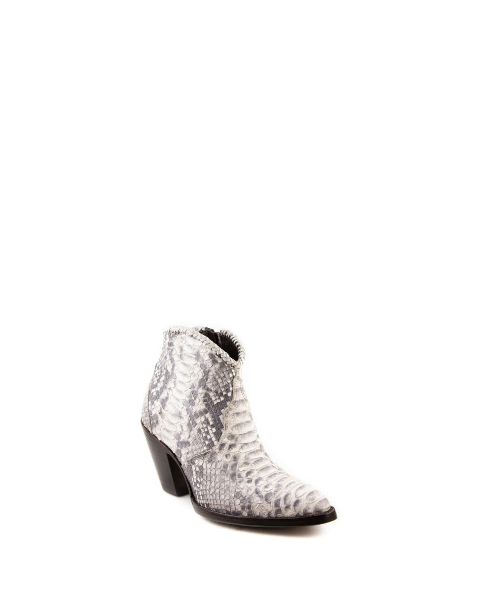 Allen's Boots Python White/Gray