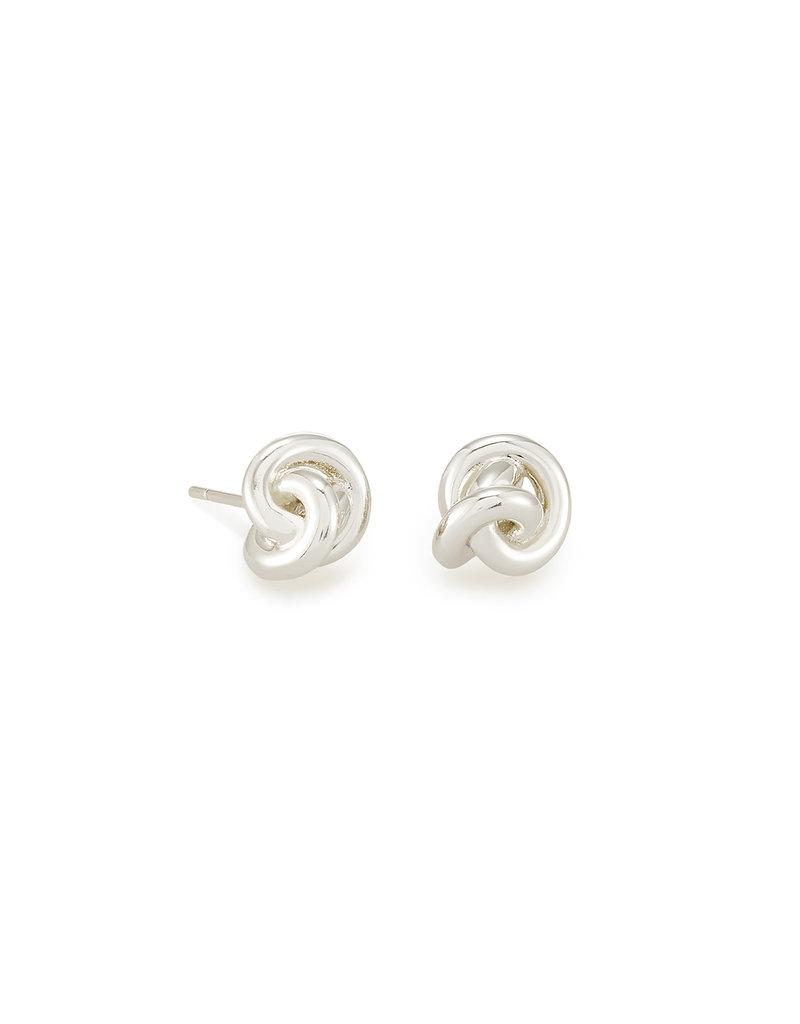 Kendra Scott Presleigh Stud Earrings in Silver