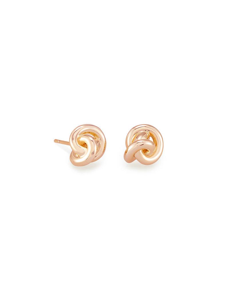 Kendra Scott Presleigh Stud Earrings in Rose Gold