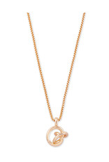 Kendra Scott Presleigh SM Long Pendant Necklace in Rose Gold